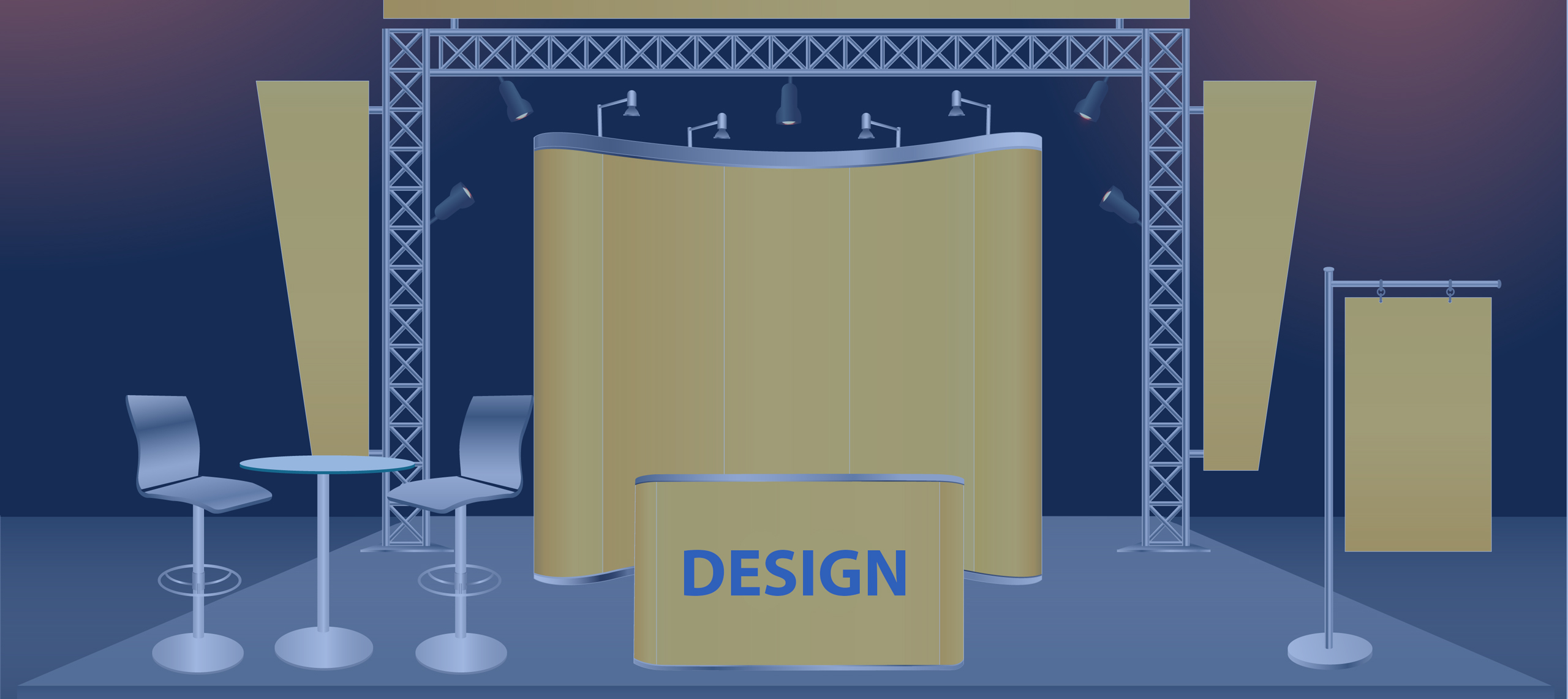 The 7 Essential Design Ideas for Your Trade Show Booth