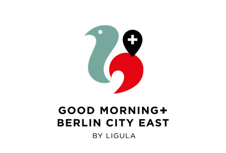 Good Morning + Berlin City East-logo